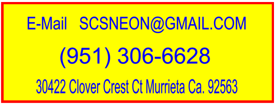 neon sign guy contact info.
