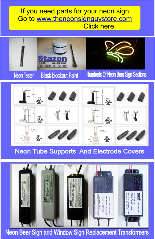 Neon SIgn Parts